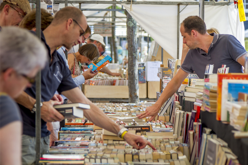book fairs are conducive events for selling books