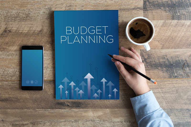Have a set budget