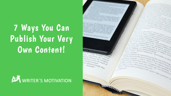 different ways to publish a content