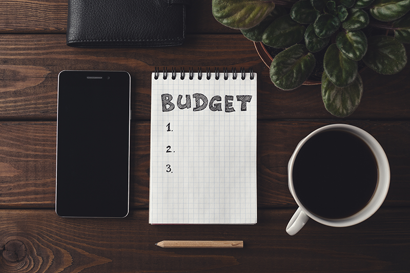 have a budget self-publish your book