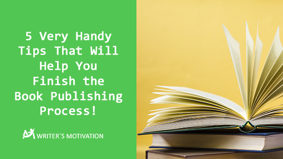 finish the book publishing process