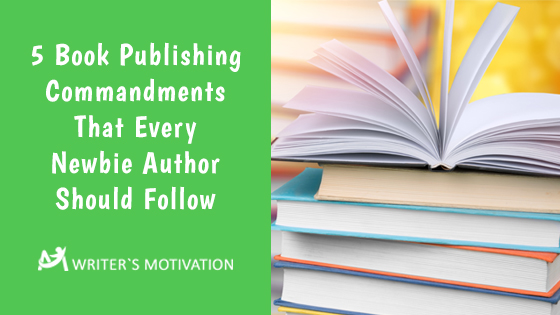 book publishing commandments