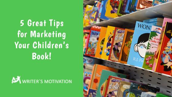 marketing a children's book