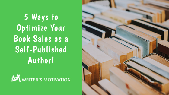 ways to optimize book sales