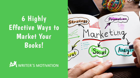 ways to market your books