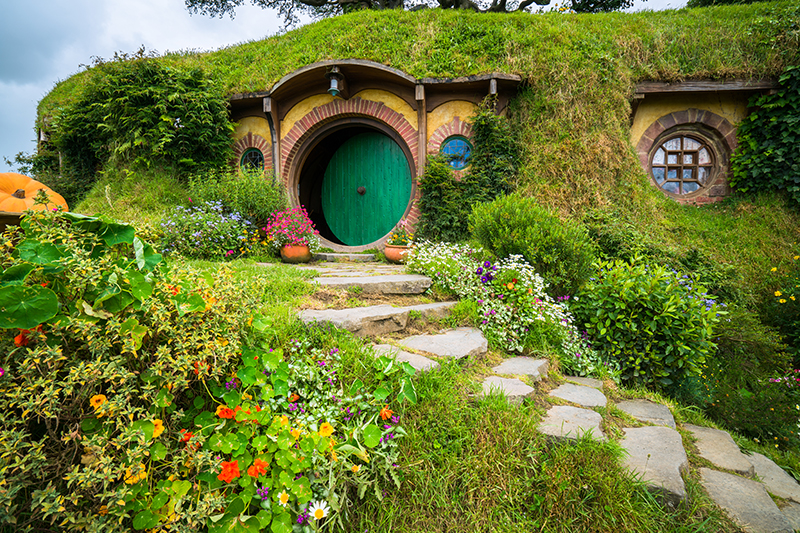 hobbiton - The Lord of The Rings