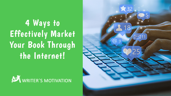 use the internet to market your book