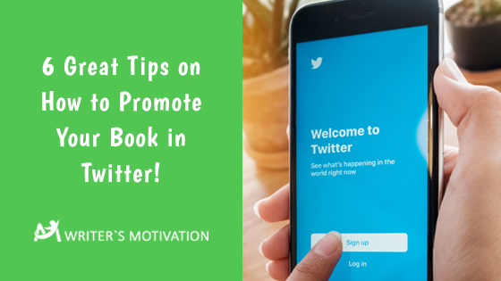 promote your book in twitter