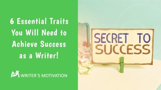 success as a writer