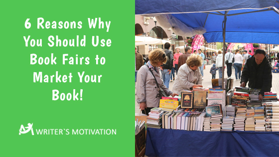 use book fairs to market your book