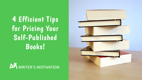 tips for pricing your self-published books