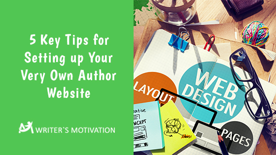 tips for setting up an author website